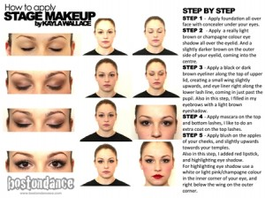 HOW TO DO SATGE MAKE UP - 2013